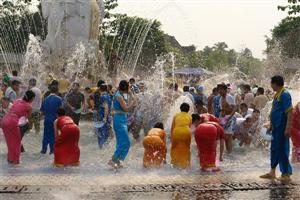 Water Splashing Festival