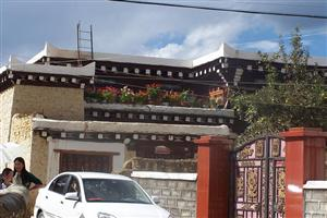 Residence of Tibetan people in Daofu County
