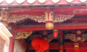 Chinese traditional architectural craftsmanship for timber framed structures