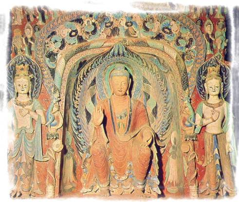 Dunhuang Painted Sculpture