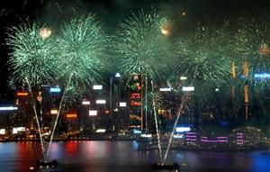 Hong Kong National Day Fireworks Display to Kick off at October 1