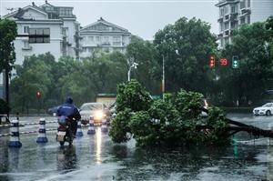 Severe Tropical Storm Haikui Hit Zhejiang and Shanghai