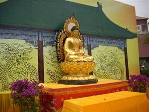 The Pagoda Enshrining Buddha Tooth Relic in the Temple of Diving Light