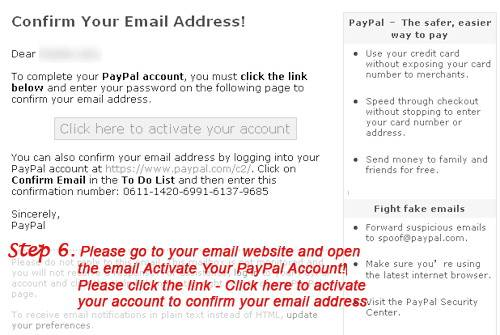 how to creat a Paypal account