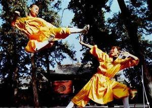 act of Shaolin kung fu