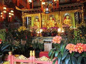 At Po Lin Monastery which is the most popular Buddhist temple in Hong Kong, you will be served a Chinese Vegetarian cuisine which is a culture heritage from ancient China
