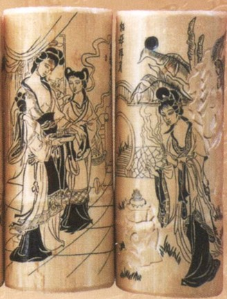 Unfolded Reed And Bamboo Carvings