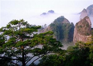 Guanzhi Mountain in Liancheng County