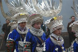 New Year Festival of Miao Ethnic People