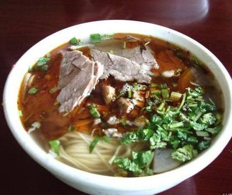 Hand Pulled Noodles With Beef