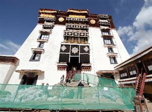 Potala Palace Repairs to Complete Late 2009