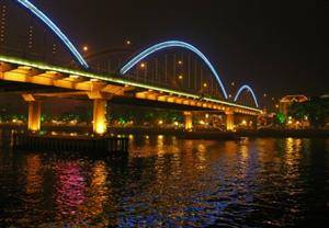 Night Cruise along the Pearl River