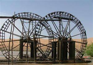 Waterwheel at Yellow River