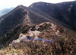 Ruins of Great Wall in the State of Yan