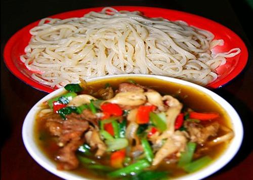 Noodles with Soy Sauce Restaurant in Toksun County