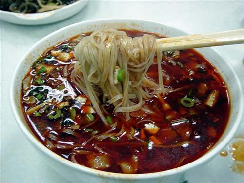 Hand Pulled Saozi Noodles (hand Pulled Noodle With Minced Meat)