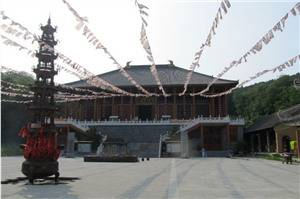 Shanyuan Temple on Baoquan Mountain