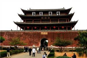 The Jianshui Ancient Town.