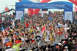 The 27th Dalian International Marathon Competition will be postponed to 2014