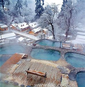 Hailuo Valley Hot Spring