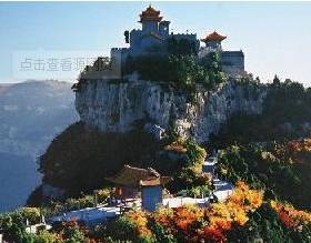 Qinglian Temple Scenic Spot of Mountain Jue
