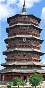 Wooden Tower in Yingxian County