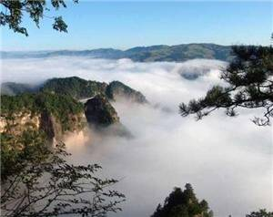 Kongtong Mountain scenic area