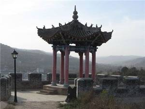 The Ancient Lingtai scenic spot
