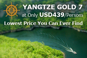 Yangtze Gold 7 at USD439/Person
