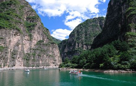 The Longqing Gorge