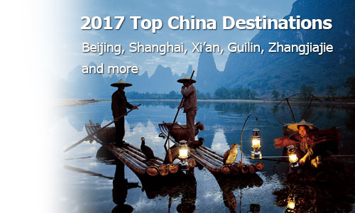 2017 top China destinations