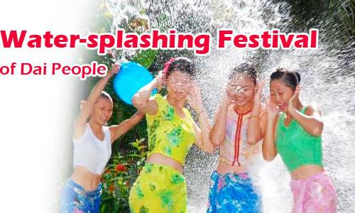 Water-Splashing Festival of Dai People