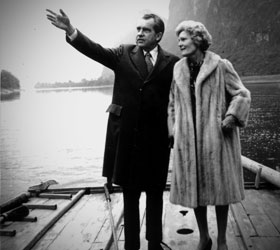 President Nixon and his wife