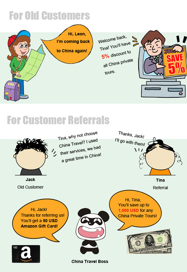 China Travel Referral Policy