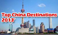 Top China Destinations 2013