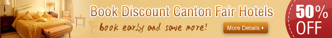 Book discount Canton Fair Hotels