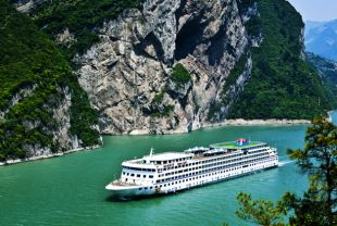 Exterior of Yangtze Gold 7 Cruise
