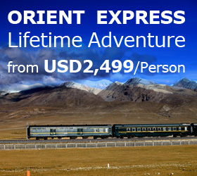 The Orient Express/Shangri-La Express Luxury Train