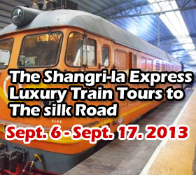 The Shangri-la Express Luxury Train