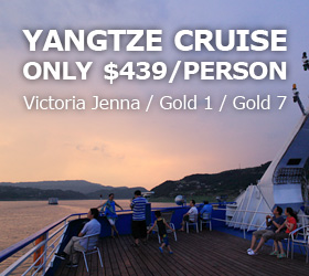 Yangtze River Cruise from USD439/Person