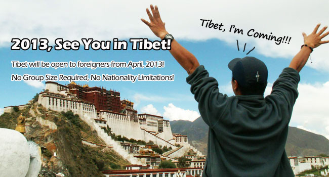 Travel to Tibet in 2013