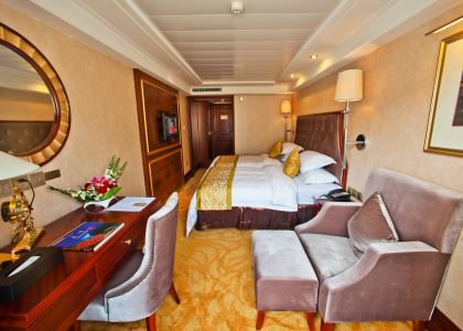 Deluxe Cabin on Yangtze Gold 1 Cruise