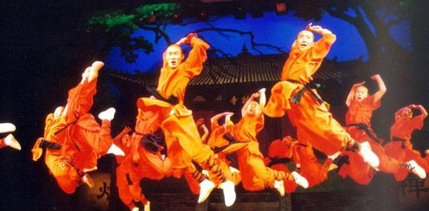 Kungfu Show in Red Theater