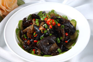 Black Fungus in Vinegar