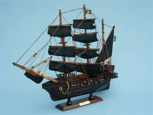 Model of Thomas Tew's Bermuda Sloop, the Amity