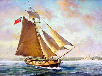 A Classical, Single-Masted Sloop