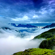 Siguniang Mountain in Sichuan Province