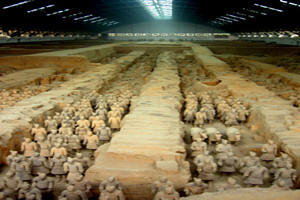 Visit the Terracotta Army in Xi'an