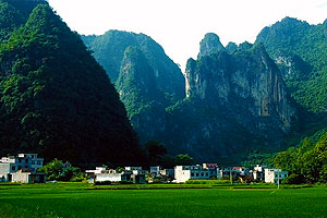 Guangxi Hechi Bama county— Grow Old in an Insular World