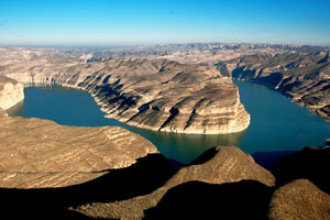 Shanxi Lao Niu Gulf –A Place Where Yellow River Meets Great Wall